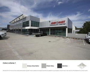 Colour scheme 1 for Commercial Building