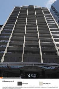 CBD skyscraper in colour scheme 1
