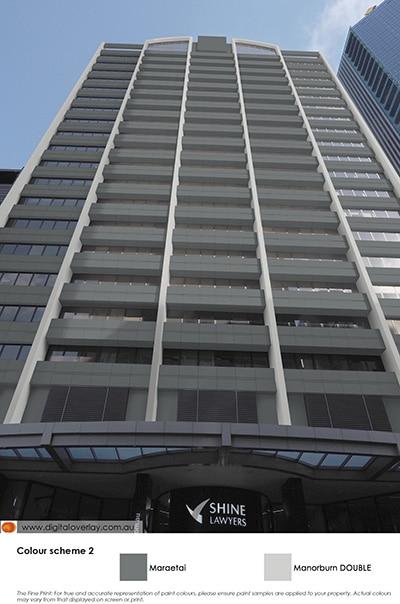 CBD skyscraper in colour scheme 2